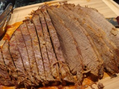 brisket sliced