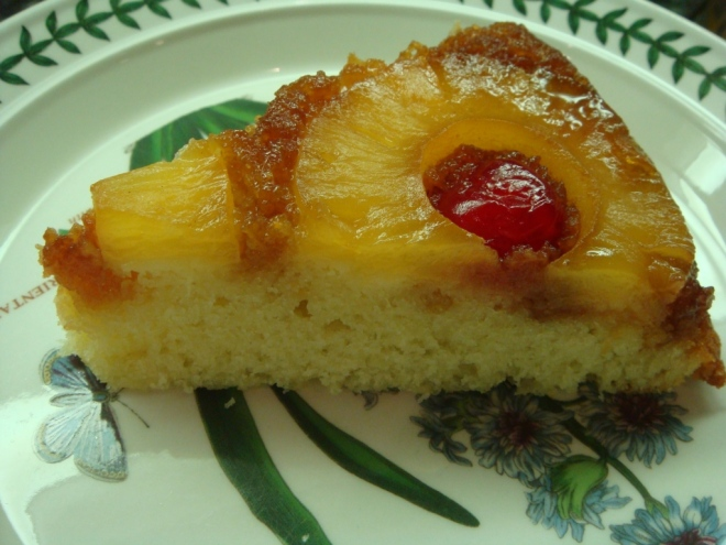 Pineapple Upside Down Slice