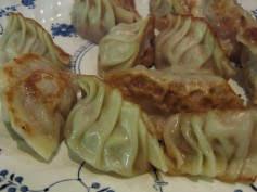 pot stickers cooked